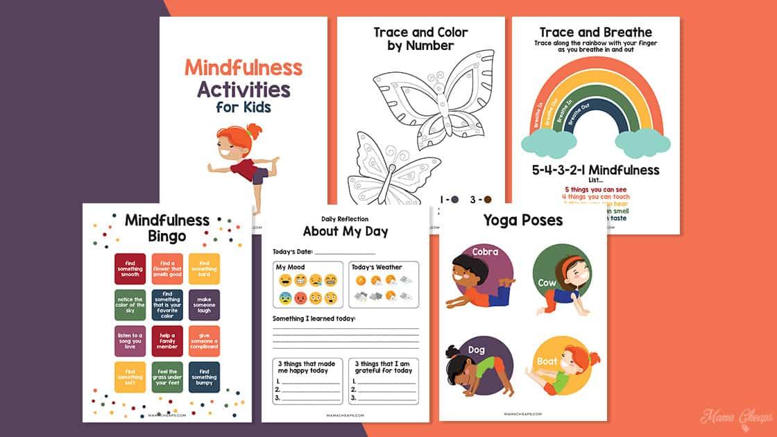 Mindfulness activities for kids MC