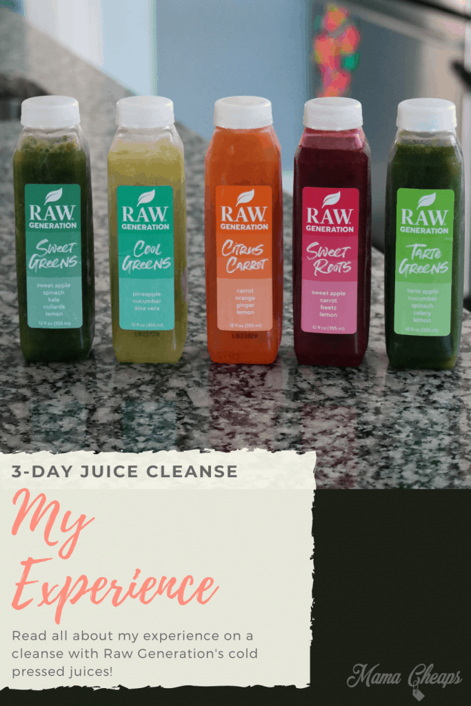 Raw Generation Juice Cleanse PIN