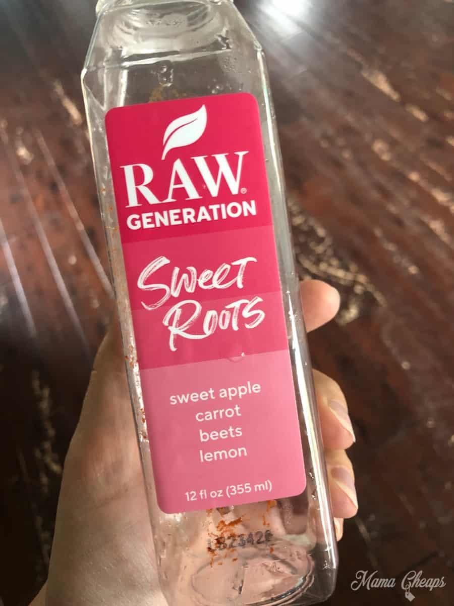 Raw Generation Sweet Roots Juice
