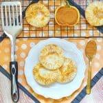 hand held pumpkin pies
