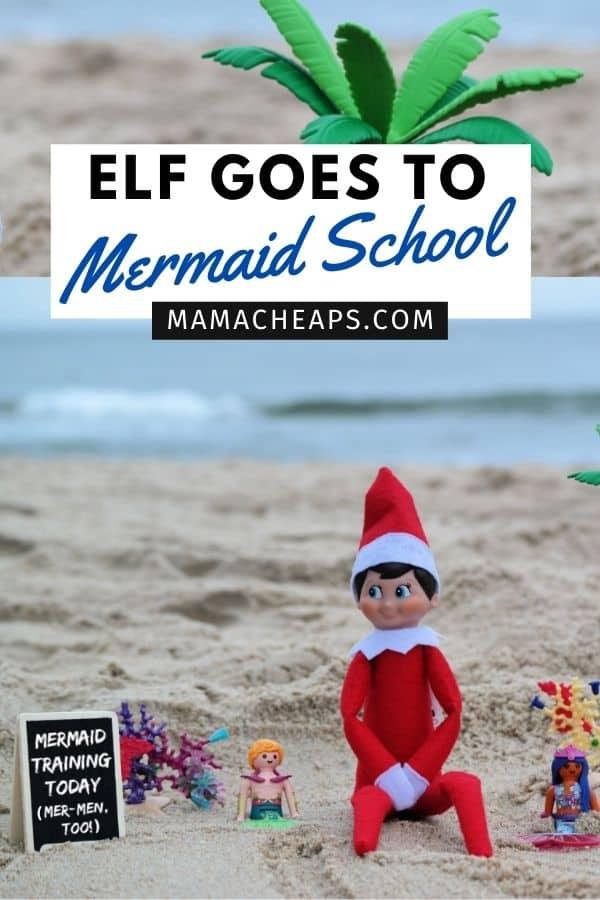 Elf Mermaid School PIN