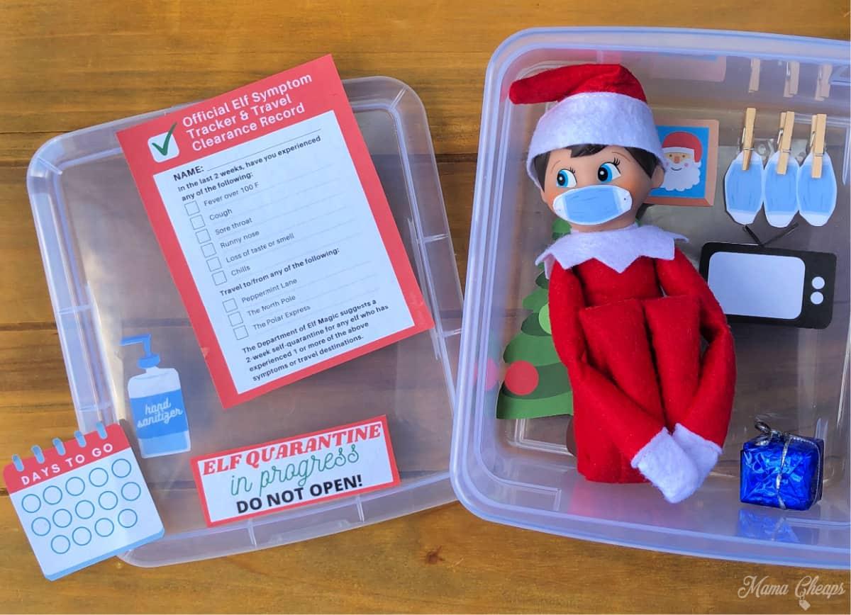 Elf box quarantine setup