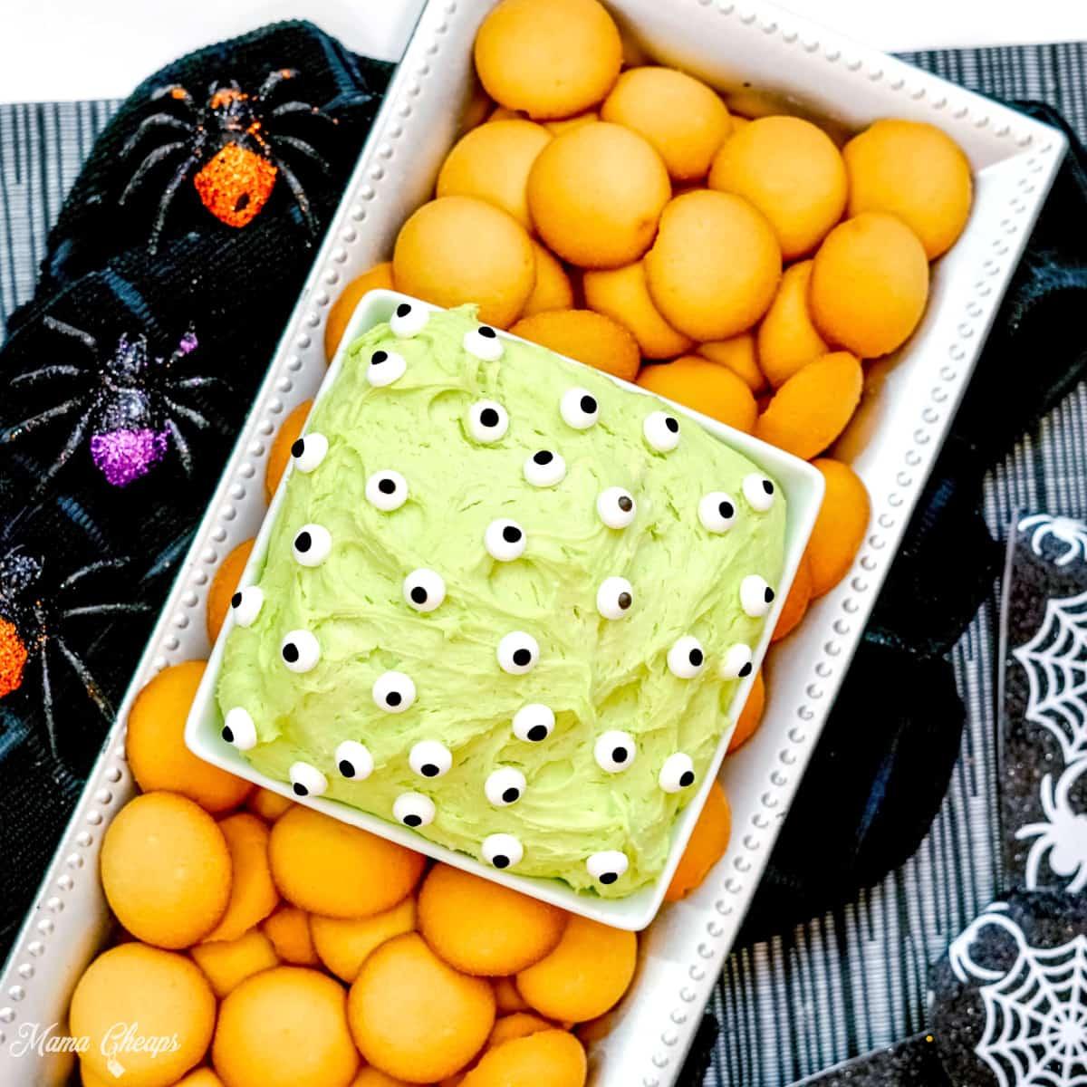 Halloween Dunkaroo Dip Square