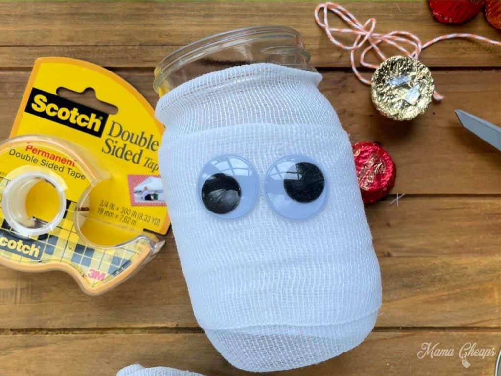 Mummy Candy Taped Eyes
