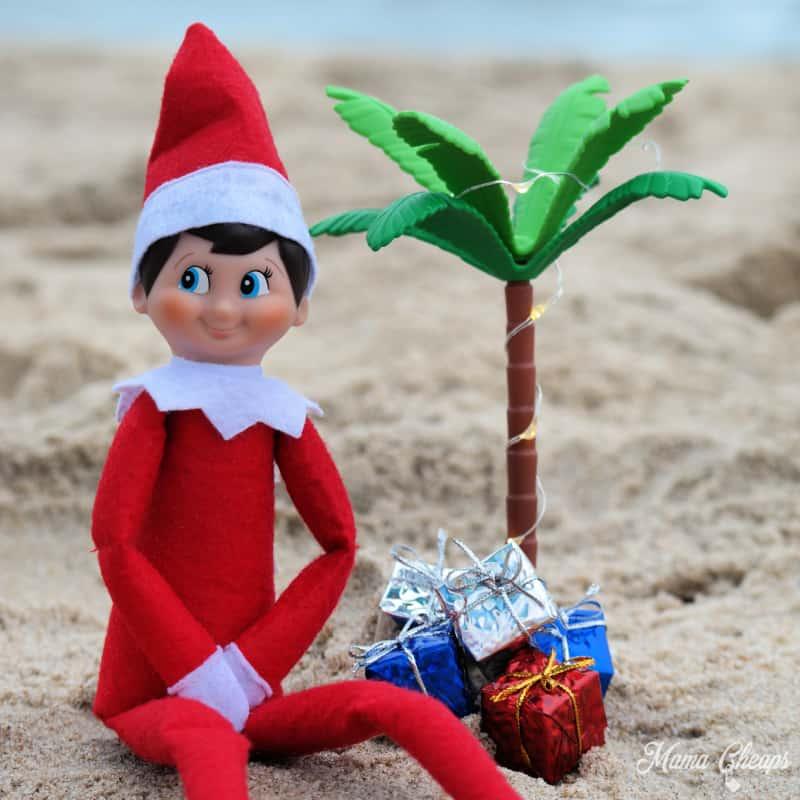 elf at beach square