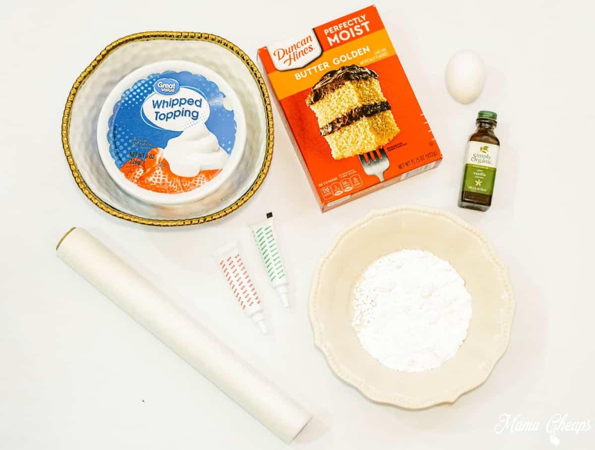 Cool Whip Cookies Ingredients