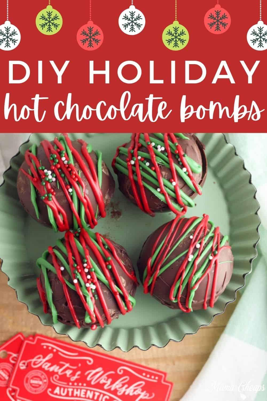 Holiday Hot Chocolate Bombs PIN