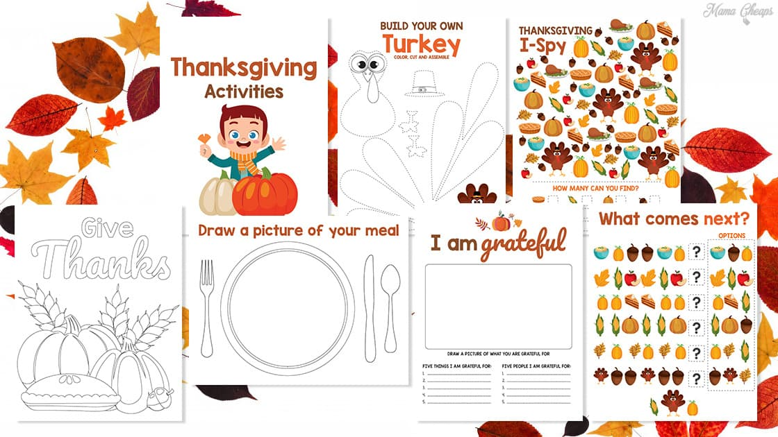 Kids Activities - Thanksgiving MC