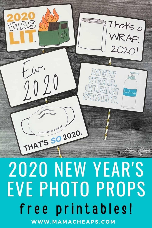 2020 NYE Photo Props PIN