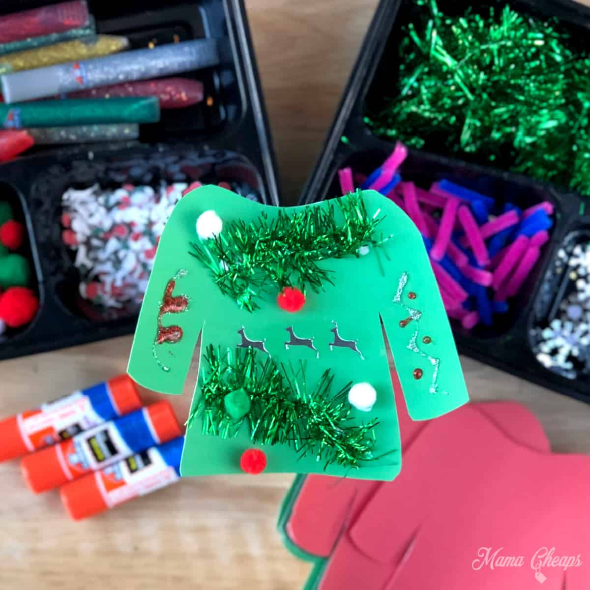 DIY Ugly Sweater Craft SQUARE
