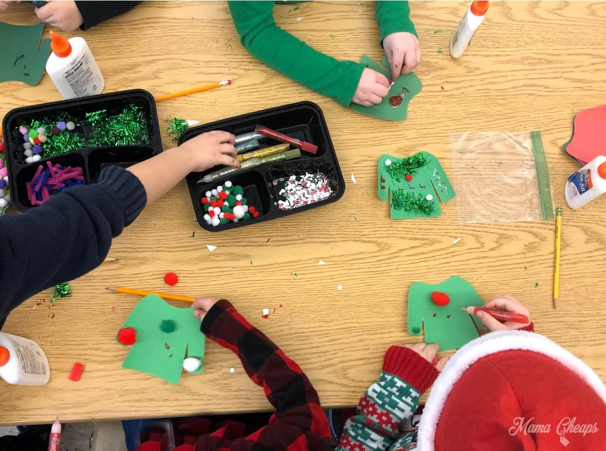 DIY Ugly Sweater Craft Time Kids 2