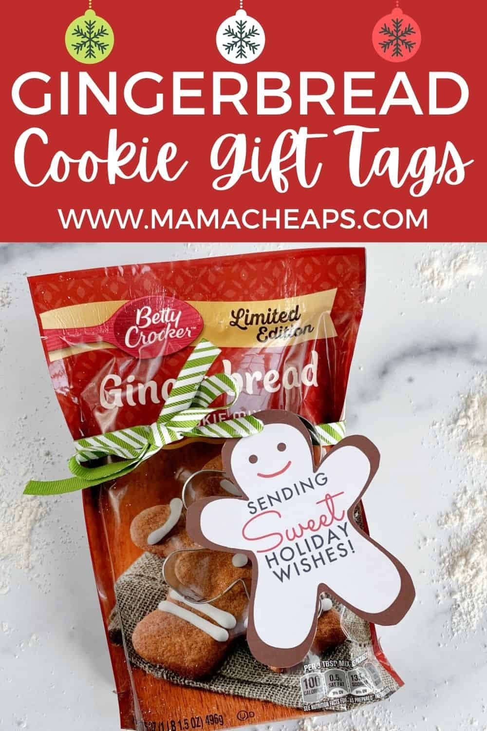 Gingerbread Cookies Gift PIN
