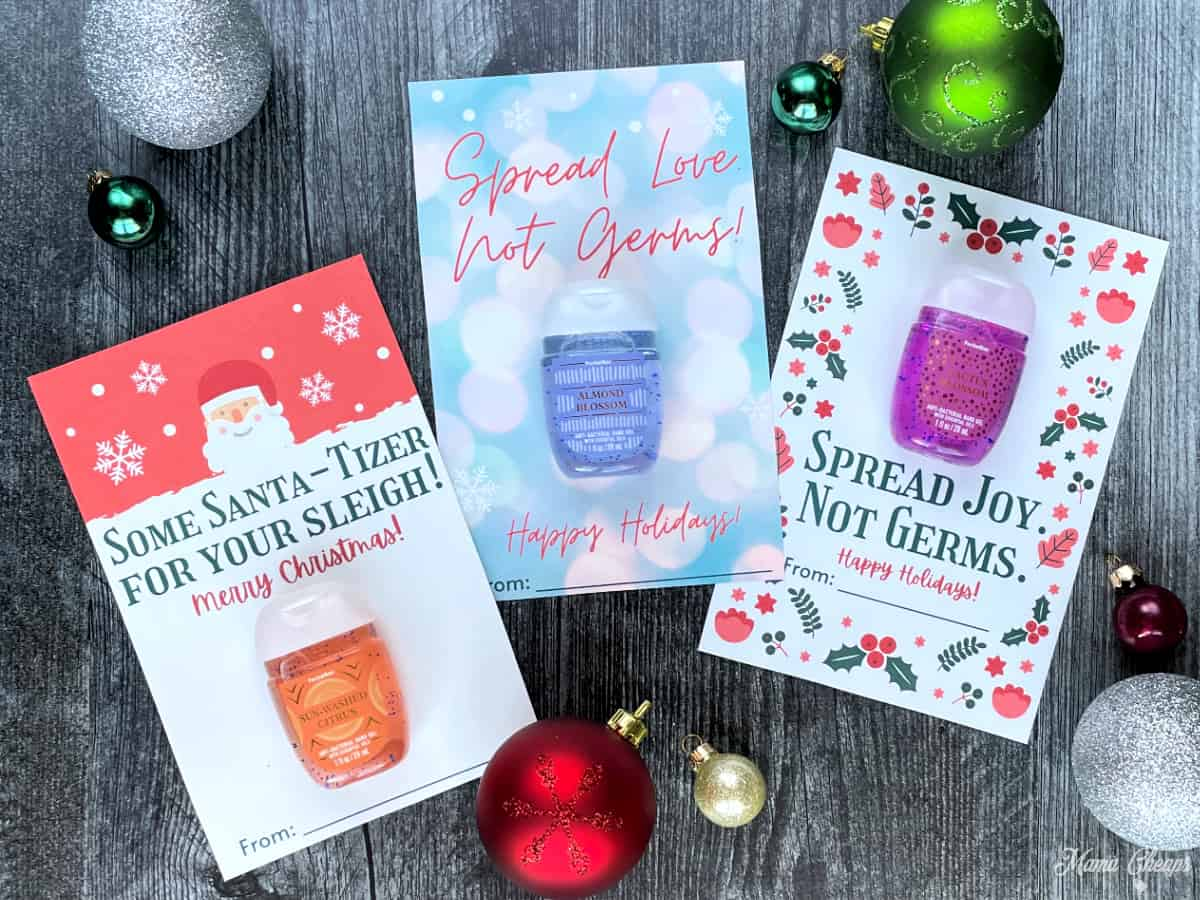 Hand Sanitizer Holiday Gifts HERO