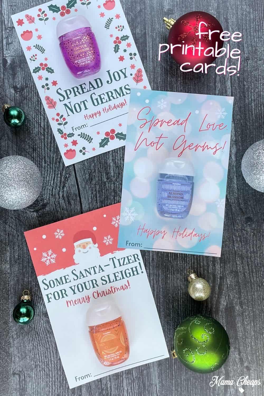 Hand Sanitizer Holiday Gifts PIN