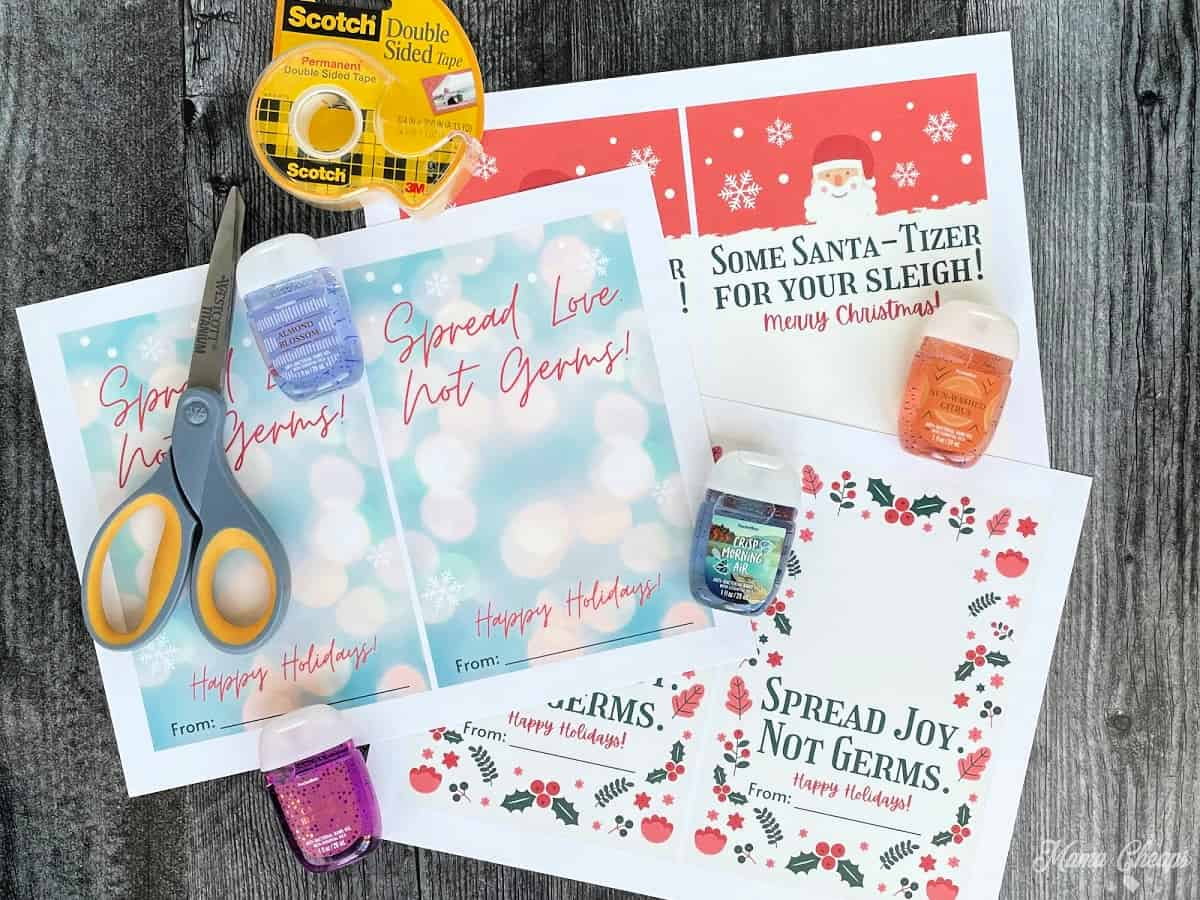 Material for Sanitizer Gifts