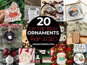 best 2020 ornaments