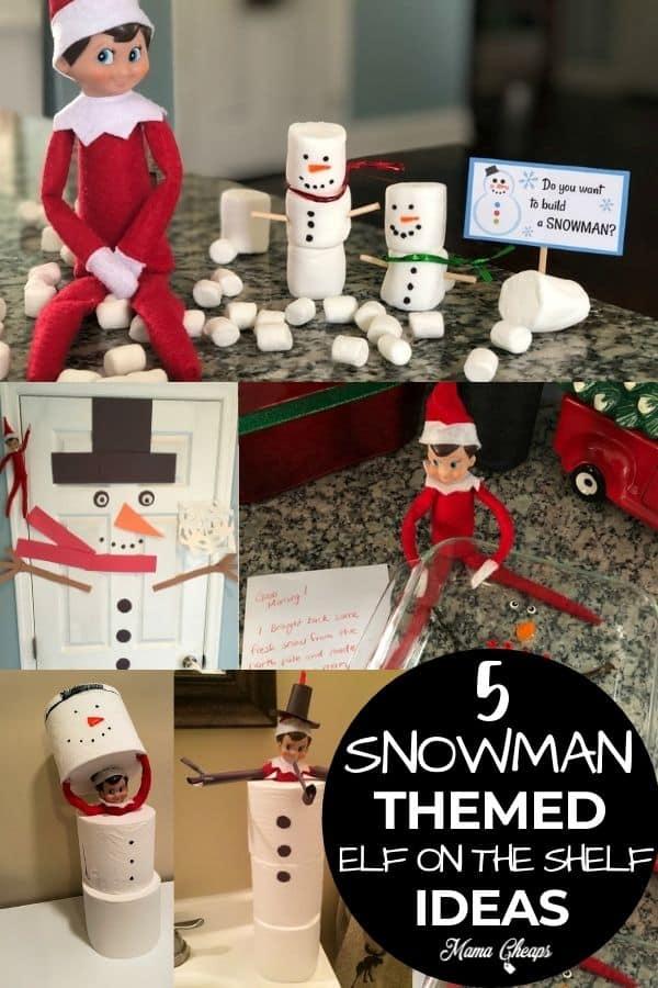 elf snowman ideas PIN