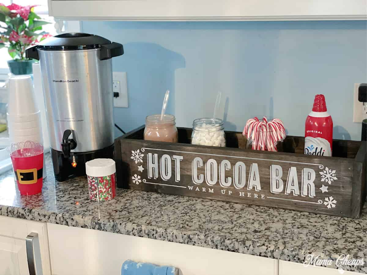DIY Hot Chocolate Bar Setup