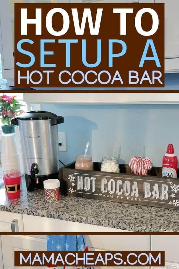 Hot Chocolate Bar DIY PIN