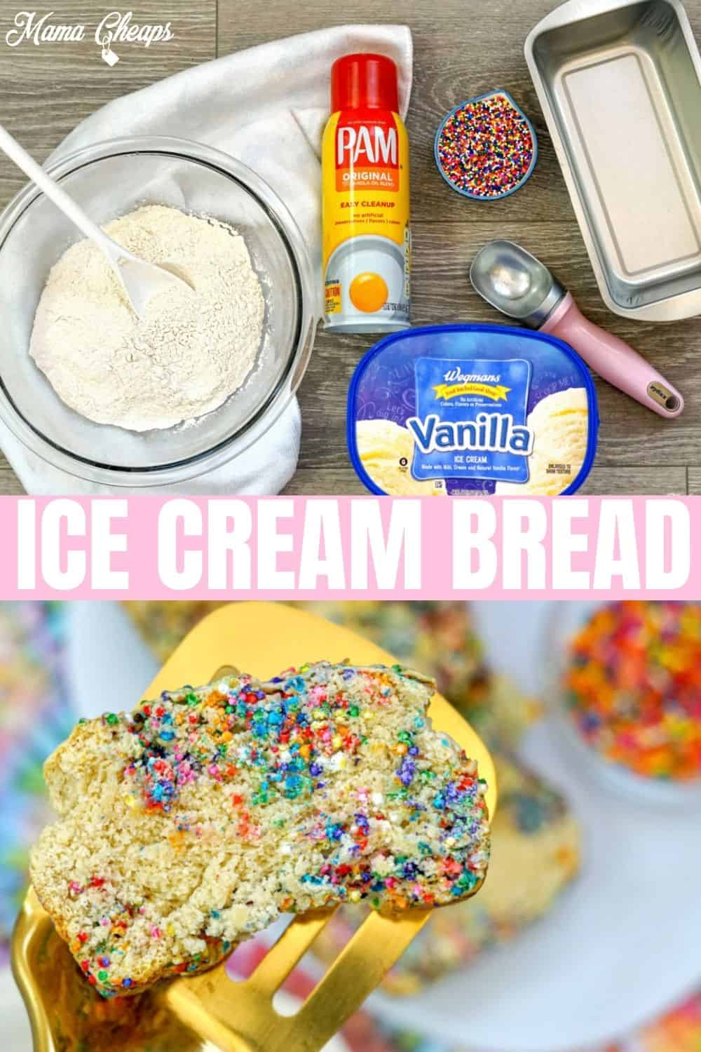 Ice Cream Bread PIN