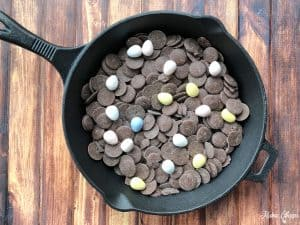 Cast Iron Skillet Chocolate Cadbury Eggs