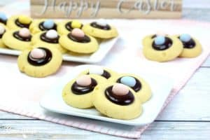 Easter thumbprint cookies 3