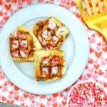 Waffle Iron Cinnamon Rolls SQUARE
