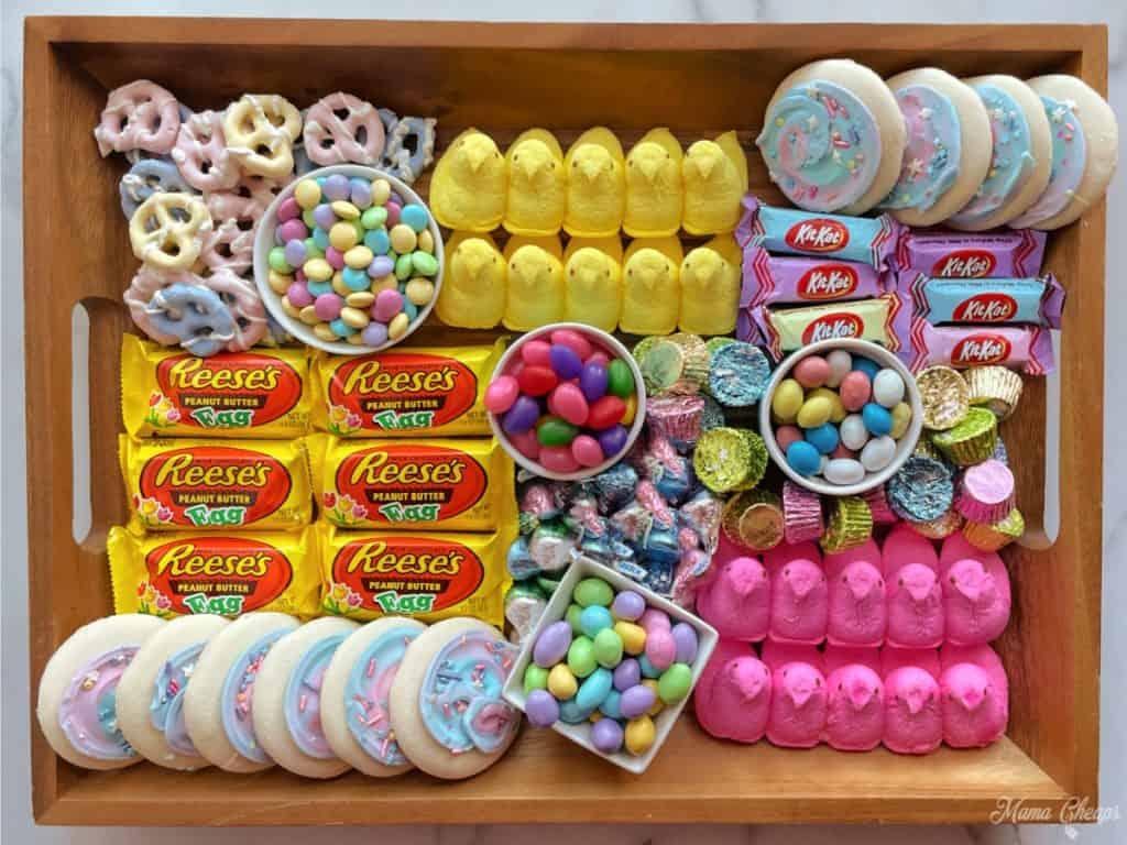 Easter Dessert Board HERO