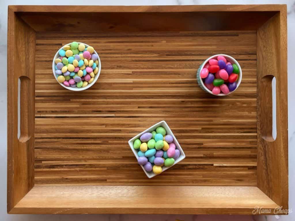 Easter Dessert Board Prep 1
