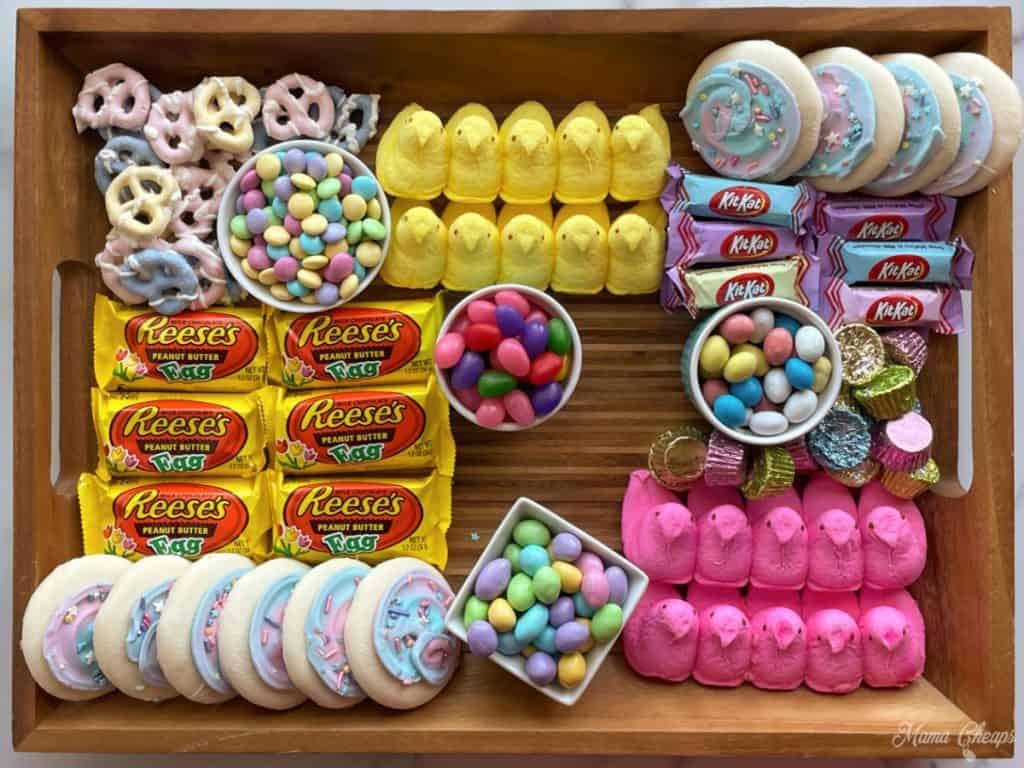 Easter Dessert Board Prep 10