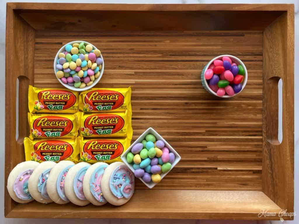 Easter Dessert Board Prep 3