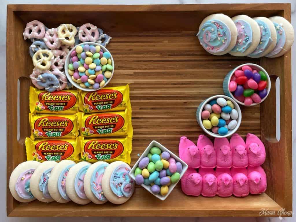 Easter Dessert Board Prep 7