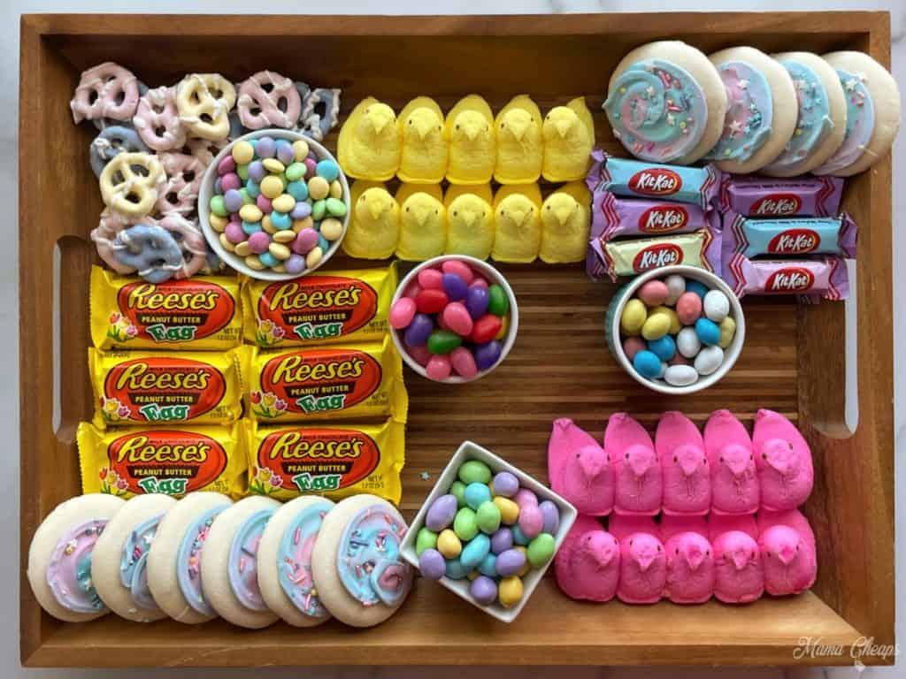 Easter Dessert Board Prep 9