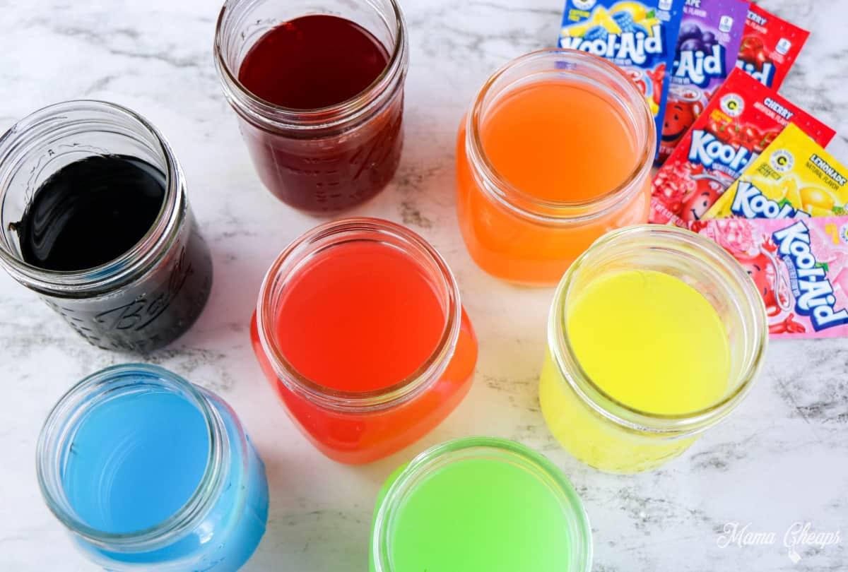 Kool Aid Jars