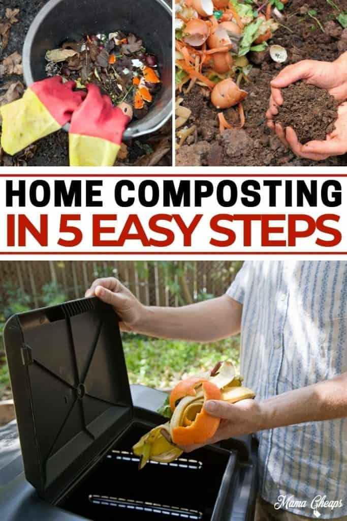 Home Composting Tips PIN