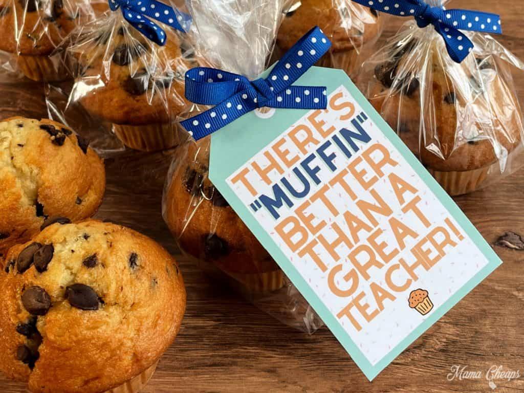 Muffin Teacher Gift HERO