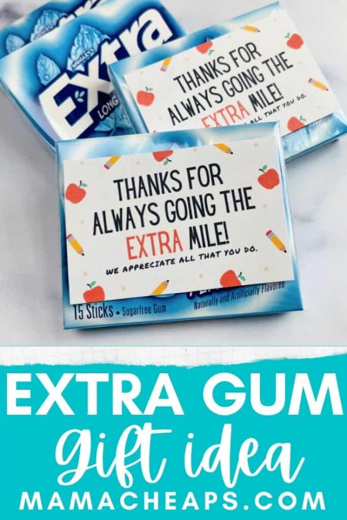 extra gum tags PIN