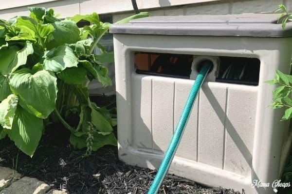 water hose garden