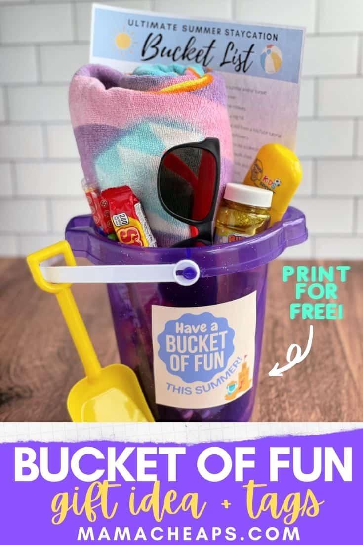 Bucket List Kid Gift Pin