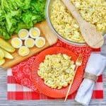 Easy Deviled Egg Pasta Salad Recipe