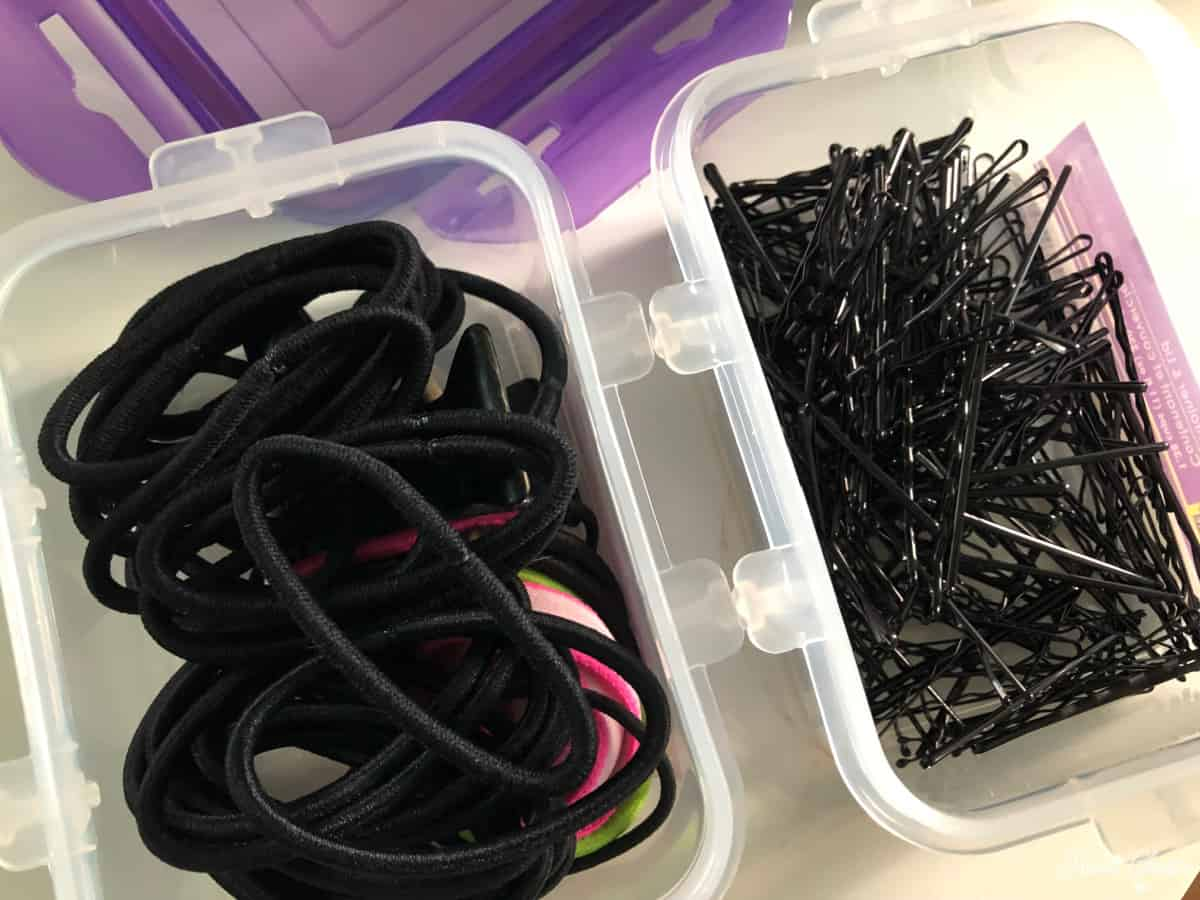 Stage Box Hair Ties Container