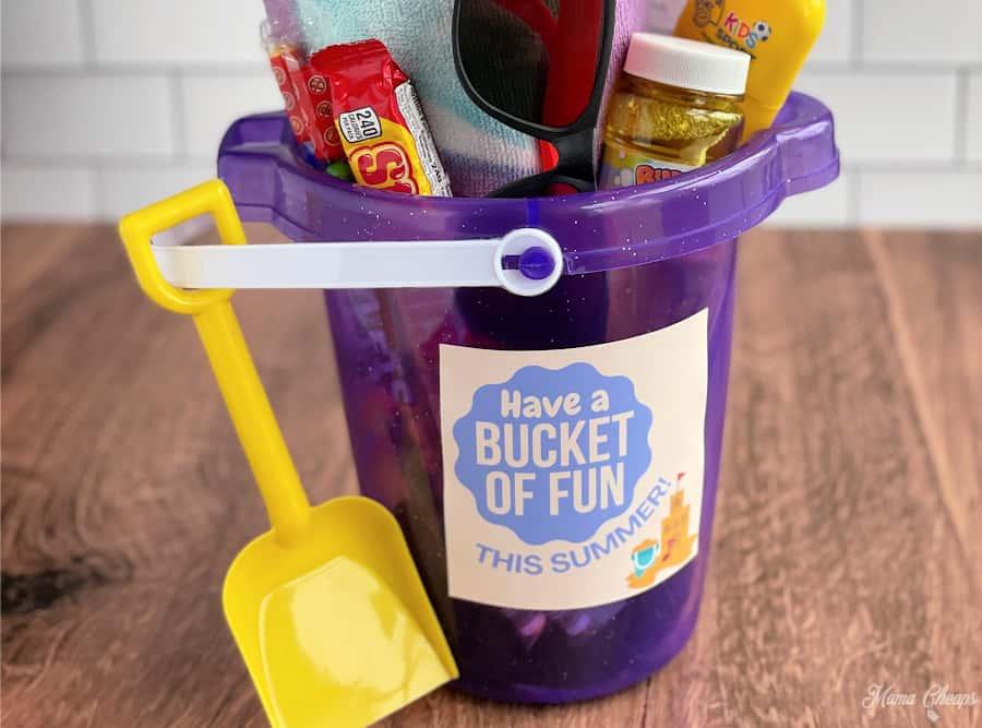 Summer Bucket List Gift feature