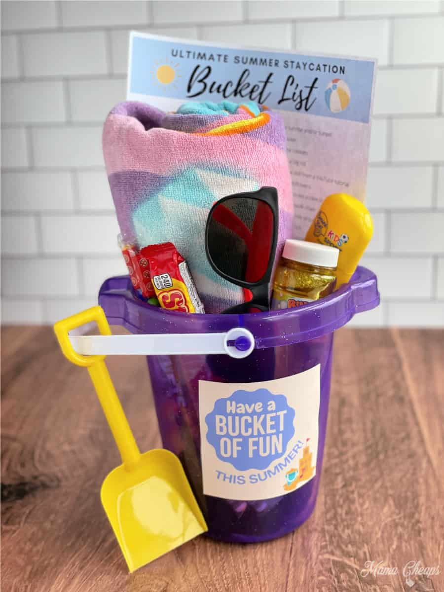 Summer Bucket List Gift