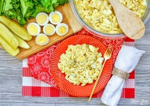 deviled egg pasta salad HERO