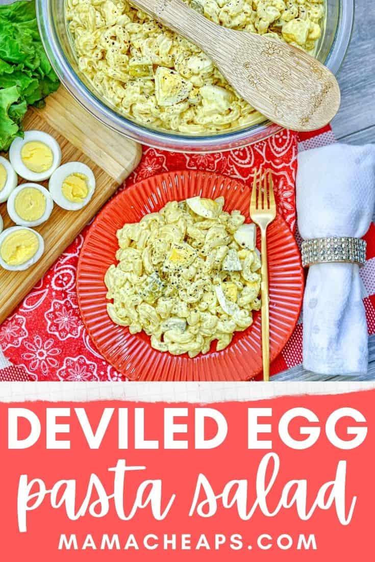deviled egg salad PIN