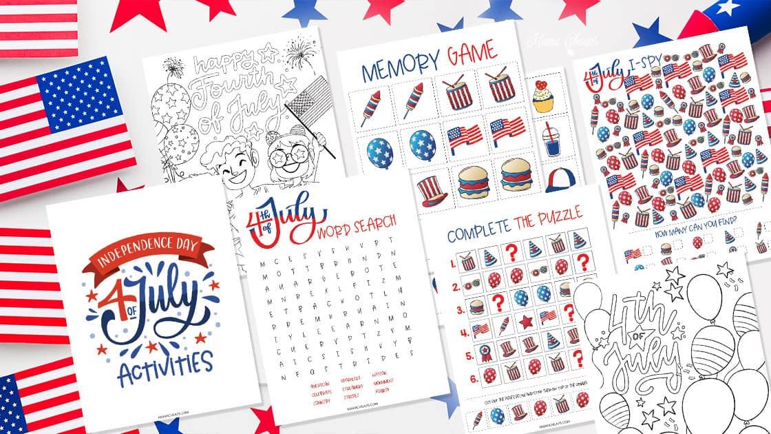 4th of July Printable Pack HERO