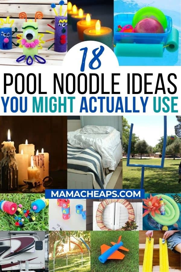 Pool noodle Ideas PIN