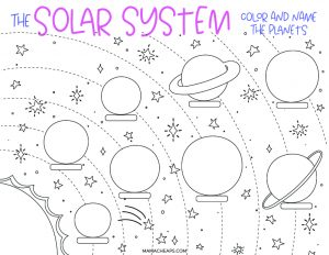 solar system page