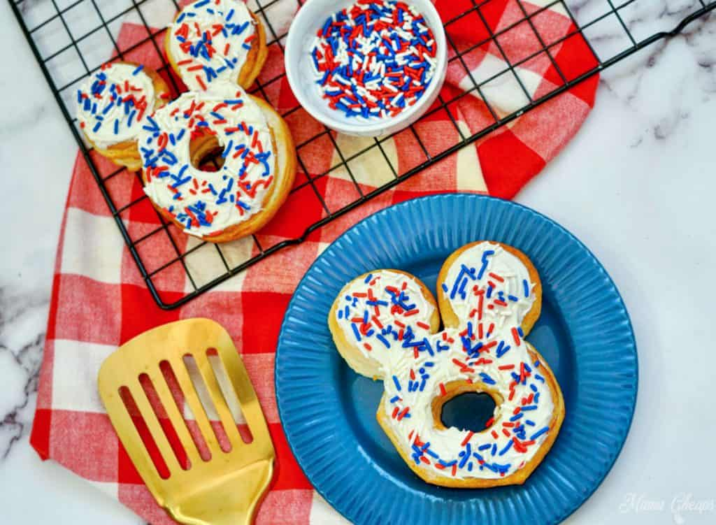Mickey Mouse Air Fryer Donuts HERO
