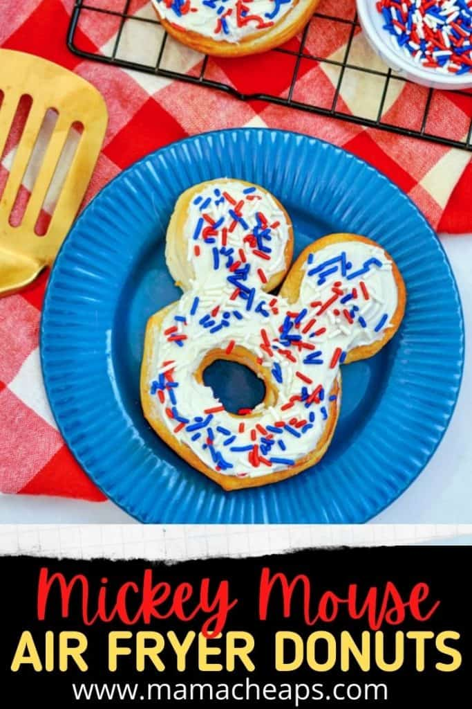 Mickey Mouse Air Fryer Donuts PIN
